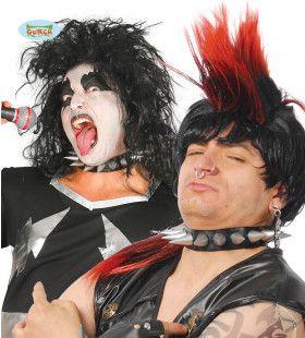 Punk Halsband Met Scherpe Punten