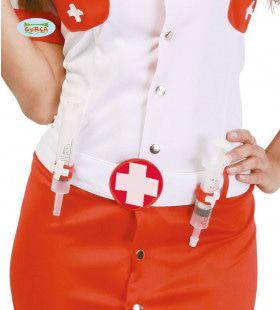 Riem Met Twee Injectiespuiten Ziekenhuis