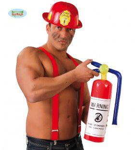 Opblaasbare Brandblusser Domme Brandweerman