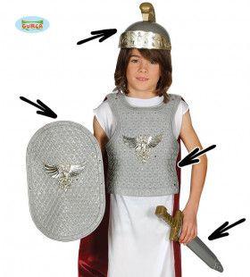 Set Romeinse Legionair Vierdelig