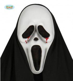 Scream Masker Met Kap