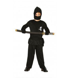 Niek De Ninja Jongen Kostuum