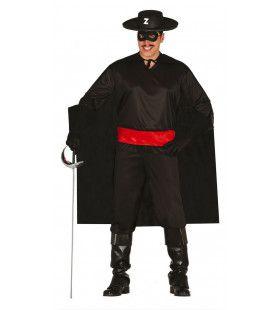 Mexicaanse Bandiet Zorro Man Kostuum