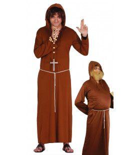 Vrome Monnik Man Kostuum