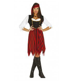 Pia Piraat Vrouw Kostuum