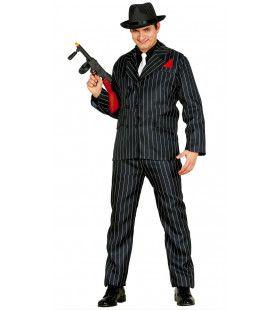 Giacomo De Gangster Man Kostuum