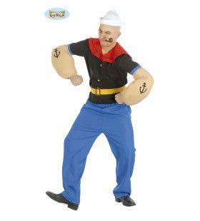Popeye De Spinazieman Kostuum