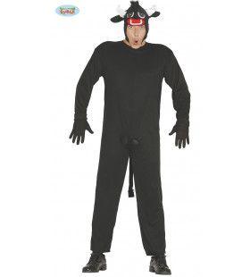 Zwarte Osborne Stier Man Kostuum