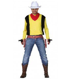 Pistolenheld Cowboy Paultje Man Kostuum