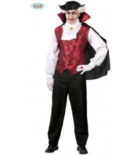 Bloeddorstige Graaf Dracula Man Kostuum