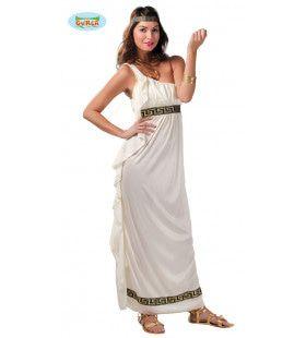 Athena De Godin Van De Olympus Vrouw Kostuum