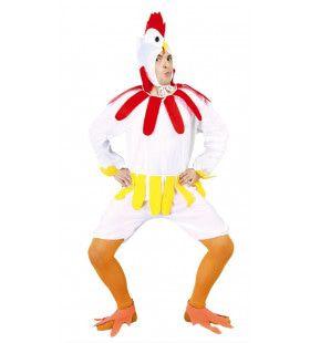 Toktok Kip Man Kostuum