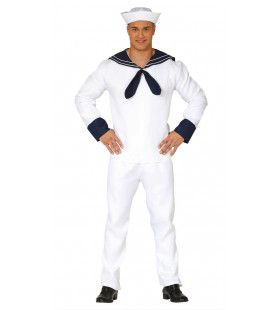 Zeewaardig Matroos Man Kostuum