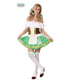 Tiroler Alpen Droom Vrouw Kostuum