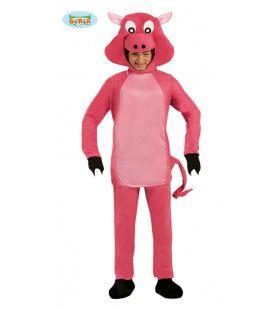 Piggy Varken Jumpsuit Kostuum