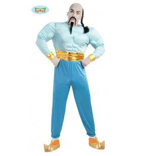 Genie From A Bottle Wonderlamp Man Kostuum