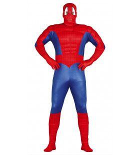 Breedgeschouderde Superheld Man Kostuum