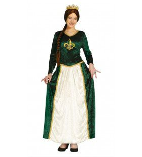 Charlotte Koningin Uit De Middeleeuwen Vrouw Kostuum