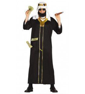 Koeweit Olie Sjeik Man Kostuum