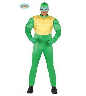 Groen Ninja Turtle Man Kostuum