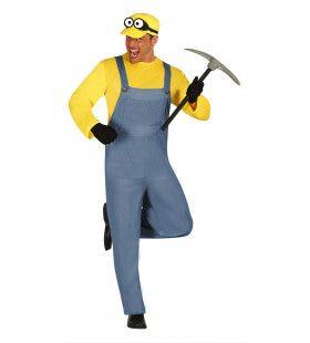 Mijnwerker Man Kostuum