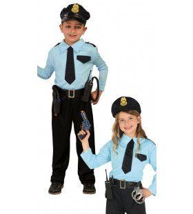 Aardige Oom Agent Jongen Kostuum