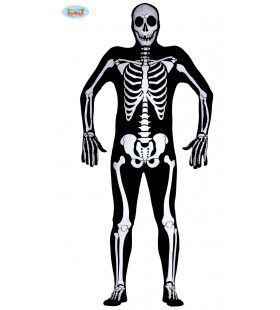 Berend Botje Skelet Man Kostuum
