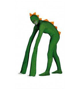 Griezelige Mutant Reptiel Man Kostuum