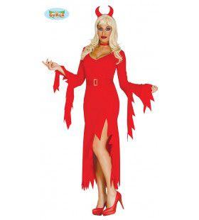 Gloeiend Hete Duivel Vrouw Kostuum