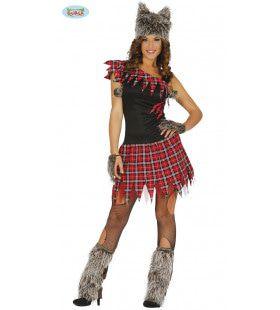 Waanzinnige Wendy Weerwolf Vrouw Kostuum
