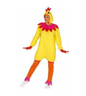 Kakelende Kip Vrouw Kostuum