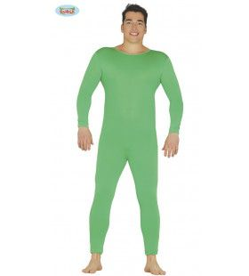 Groen Jumpsuit Ballet Man Kostuum