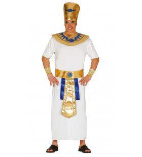 Cheops Van Egypte Faro Man Kostuum
