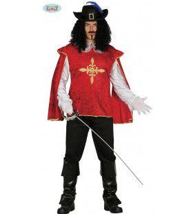 Prik Je Lek Musketier Man Kostuum