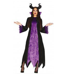 Doortrapte Slechte Heks Vrouw Kostuum