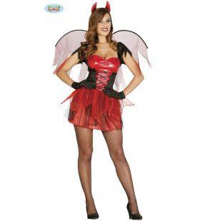 Bloedhete Vagevuur Engel Vrouw Kostuum
