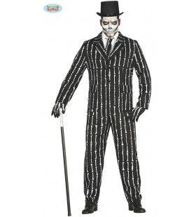 Wall Street Bankier Beenderen Man Kostuum