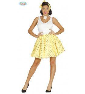 Jaren 50 Pin Up Vrouw Kostuum