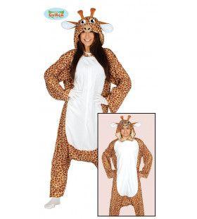 Giraffe Afrika Jumpsuit Vrouw Kostuum