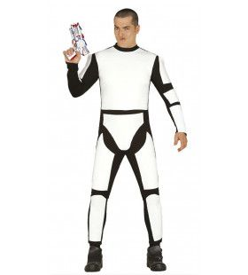 Science Fiction Ruimte Soldaat Man Kostuum