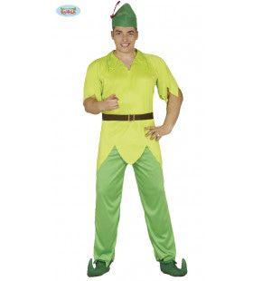 Robin De Vrolijke Vrijbuiter Man Kostuum