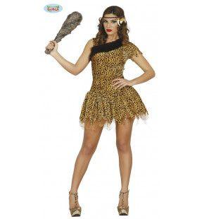 Gretha Grot Prehistorie Vrouw Kostuum