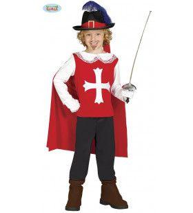 Sans Peur Musketier Jongen Kostuum
