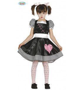 Doortje Duister Living Doll Meisje Kostuum
