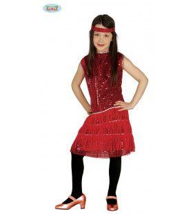 Charlene Charleston Flapper Meisje Kostuum