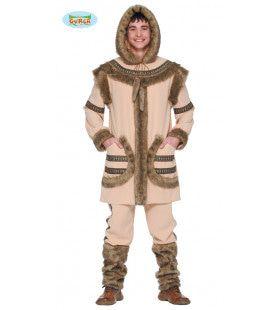 Eskimo Noordpool Jacht Man Kostuum
