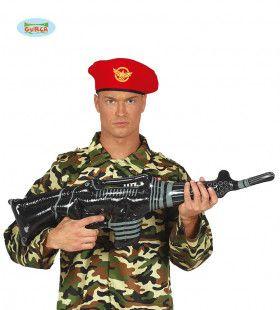 Opblaasbaar Machinepistool Commando 90 Centimeter