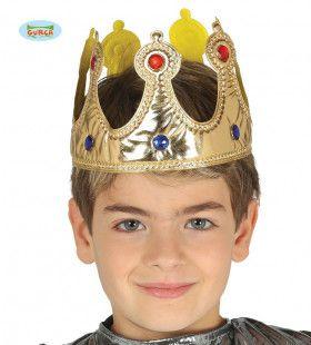 Stoffen Kroon Rijke Koning