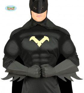 Superheld Batman Handschoenen Met Vlammen