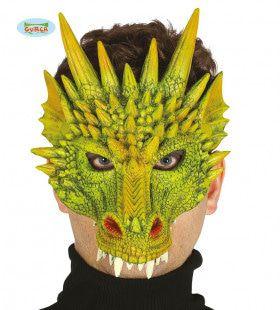 Halfmasker Draak Met Giftige Punten